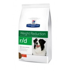 Hill's Prescription Diet Canine R/D Weight Reduction - идеальный вес собаки