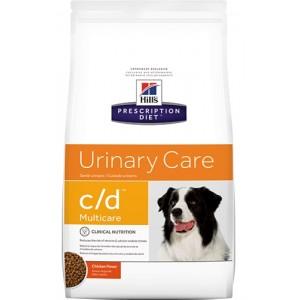 Hill's (Хиллс) Prescription Diet Canine c/d ● от образования камней в мочевом пузыре