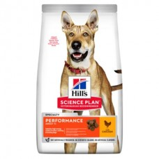 Hill's SP Canine Adult Performance - корм для рабочих и охотничьих собак (курица)