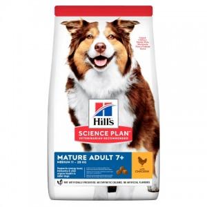 Hill's  Science Plan  Canine Mature Adult 7+ Active Longevity™ Medium (с курицей)