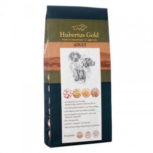 Купить немецкий сухой корм Hubertus Gold, корм для взрослых собак, Хубертус Голд с птицей и рисом, доставка корма для собак по Киеву и Украине