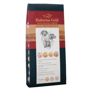 Купить немецкий сухой корм Hubertus Gold, корм для акитивных собак, Хубертус Голд с птицей и рисом, доставка корма для собак по Киеву и Украине