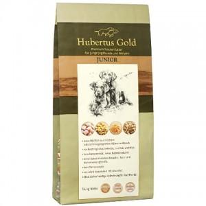 Купить немецкий сухой корм Hubertus Gold, корм для щенков и молодых собак, Хубертус Голд с птицей и рисом, доставка корма для щенков по Киеву и Украине