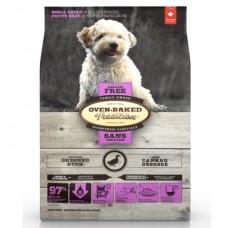 Oven-Baked Tradition Grain-Free Small Breed Duck - беззерновой корм для собак малых пород с уткой