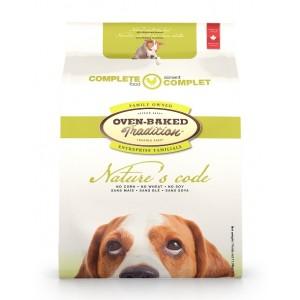 Полнорационный корм для взрослых собак с мясом курицы «Oven-Baked Tradition Nature's Code Dog Adult Chicken »: изготовлен из натуральных ингредиентов | Лучший рецепт
