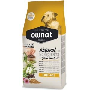 Испанский сухой корм для собак «Ownat Classic Dog Adult Lamb & Rice» с ягнёнком – все необходимые питательные, витаминные и минеральные вещества в составе| Petplus