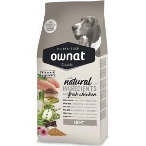 Испанский сухой корм «Ownat Classic Light Dog Adult» с мясом курицы – для собак с избыточным весом| Petplus