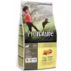 Pronature Holistic Puppy Chicken & Sweet Potato  - сухой холистик корм для щенков всех пород с курицей и бататом