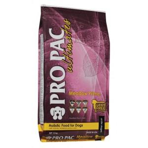 Pro Pac Ultimate Meadow Prime Dry Dog Food - беззерновой корм для собак с ягненком и картофелем