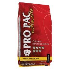 Pro Pac Ultimates Adult Chicken & Brown Rice - корм для взрослых собак всех пород / курица и бурый рис