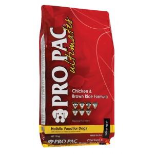 Купить корм для взрослых собак всех пород Pro Pac Ultimates Adult Chicken & Brown Rice - Petplus
