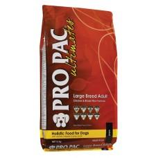 Pro Pac Ultimates Adult Large Breed Dry Dog Food - корм для собак крупных пород / курица с рисом