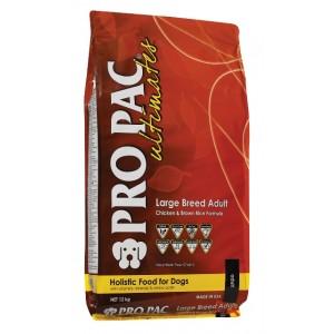 Корм для собак крупных пород с курицей и рисом | Pro Pac Ultimates Adult Large Breed Dry Dog Food | Petplus