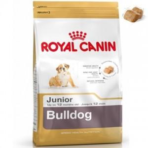 Royal Canin Bulldog Junior (Бульдог щенки  до 12 месяцев)