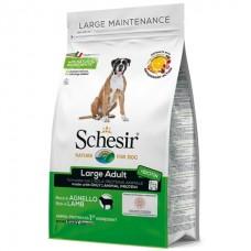 Schesir Dog Large Adult Lamb - сухой монопротеиновый корм для собак крупных пород с ягненком