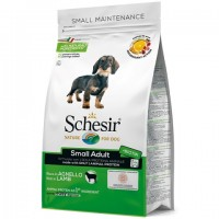 Schesir Dog Small Adult Lamb - сухой монопротеиновый корм для собак малых пород с ягненком