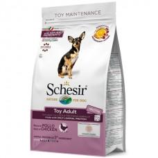 Schesir Dog Toy Adult - сухой монопротеиновый корм для собак мини пород
