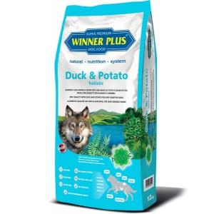Гипоаллергенный сухой корм Виннер Плюс «Winner Plus» для собак с уткой и картофелем