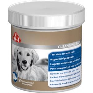 Очищающие cалфетки от слез и слюны у собак «8in1Tear Stain Remover Pads»: урологический синдром, мочекаменная болезнь, цистит   Petplus