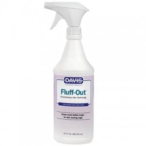 Davis Fluff Out - средство для укладки шерсти собак и котов / спрей