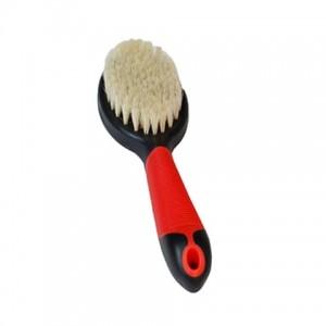 Karlie-Flamingo Brush Pig's Hair - щетка для собак и кошек из натуральной щетины с антистатическим эффектом, 23 см