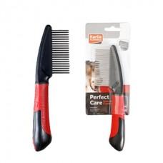 Karlie-Flamingo Comb Rotating Teeth - расческа для собак с вращающимися зубцами