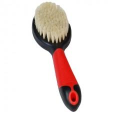 Flamingo Brush Pig's Hair - щетка для собак и кошек из натуральной щетины с антистатическим эффектом, 23 см