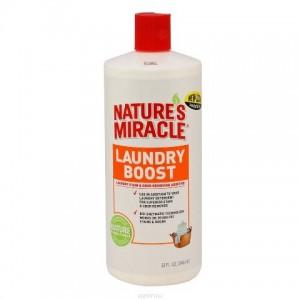 Nature's Miracle Laundry Boost - средство для уничтожения пятен, запахов и аллергенов при стирке - 8in1