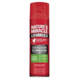 Natures Miracle (Нейчерлз Миракл) Stain and Odor Eliminator - устранитель пятен и запахов с усиленной формулой для собак / аэрозоль-пена