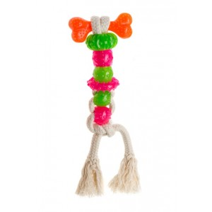 Comfy Mint Dental Toother - игрушка-канат для собак (шнурок с колечками 7 элементов)