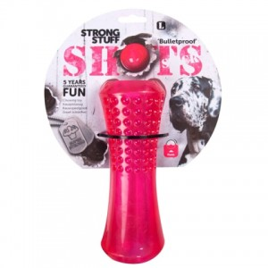 Развивающая жевательная игрушка для прогулки собак «Flamingo Shots Stick» - может использоваться как аппорт: узнай больше