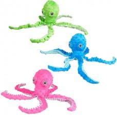 Flamingo Bubbly Plush Octopus - мягкая игрушка для собак
