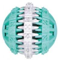 Trixie Denta Fun Ball - Мяч каучуковый c ароматом мяты для собак