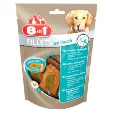 8 in 1 Fillets Pro Fresh Breeth S - куриное филе (для освежения дыхания)