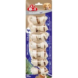 8 in 1 Beef Delights Bones - жевательная косточка для собак с говядиной