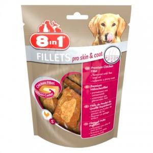 8 in 1 Fillets Pro Skin&Coat S - куриное филе (для кожи и шерсти)