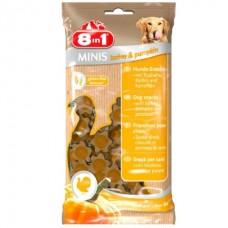 8 in 1 MINIS Turkey & Pumpkin - лакомство для собак Индейка с тыквой и картофелем