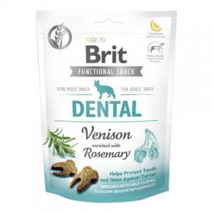Brit Care SNACK DENTAL лакомства для поддержания здоровья зубов у собак