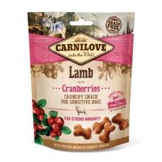 Carnilove Crunchy Lamb with Cranberries - лакомство для собак с ягненком и клюквой