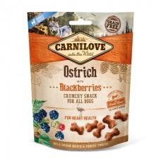 Carnilove Crunchy Ostrich with Blackberries - лакомство для собак со страусом и ежевикой