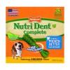 Nylabone Nutri Dent Chicken Medium ☆ НИЛАБОН НУТРИ ДЕНТ ЧИКЕН жевательное лакомство для чистки зубов для собак до 16 кг, вкус курицы