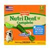 Nylabone Nutri Dent Chicken Large ☆ НИЛАБОН НУТРИ ДЕНТ ЧИКЕН жевательное лакомство для чистки зубов для собак до 23 кг, вкус курицы