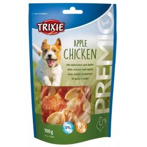 Trixie PREMIO Apple Chicken - лакомство для собак / кусочки курицы с яблоком