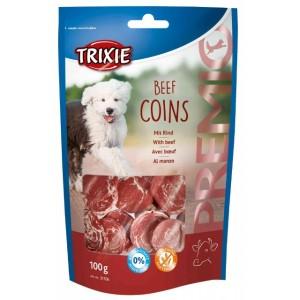 Trixie PREMIO Beef Coins - лакомство для собак / кусочки говядины