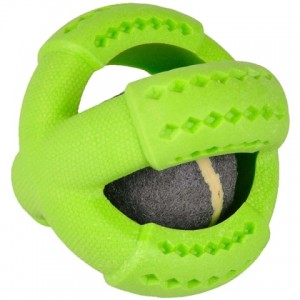 Любимая игрушка для собак всех пород и возрастов {Фламинго Теннис} поддерживает охотничьи инстинкты | Petplus