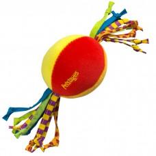 """PETSTAGES Cool Teether - игрушка для собак и щенков """"Мячик с гелевым наполнителем и шнурками"""""""