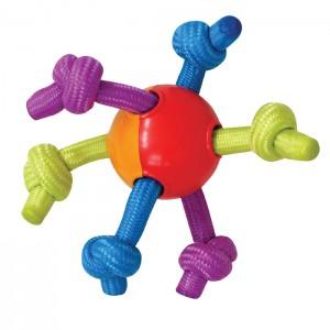 "PETSTAGES Hearty Chew- игрушка для собак ""Мячик с канатами"""
