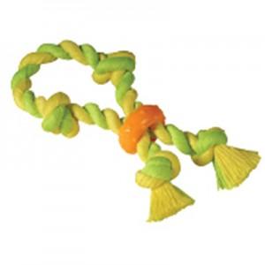 """PETSTAGES Mini Dental Chew Rope - игрушка для собак """"Канат с кольцом"""" малых и карликовых пород"""