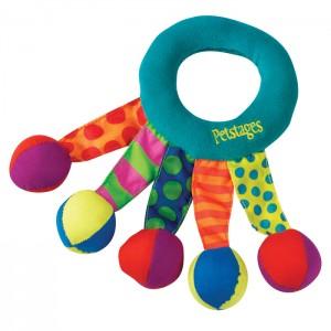 "PETSTAGES Toss and Shake- игрушка для собак ""Кольцо-погремушка текстильное"""