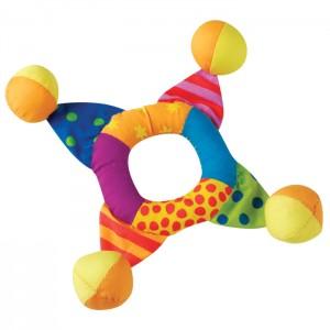 """PETSTAGES Mini Toss Ring - игрушка для собак малых и карликовых пород """"Кольцо-погремушка мини"""""""
